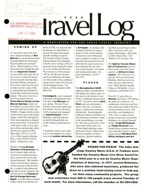 Primary view of object titled 'Texas Travelog, September 1999'.