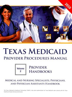 Primary view of object titled 'Medical and Nursing Specialists, Physicians, and Physician Assistants Handbook'.