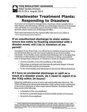 Primary view of object titled 'Wastewater Treatment Plants: Responding to Disasters'.
