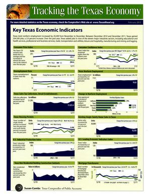 Primary view of object titled 'Tracking the Texas Economy'.