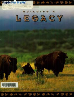Primary view of object titled 'Texas Parks and Wildlife Department Annual Report: 1998'.
