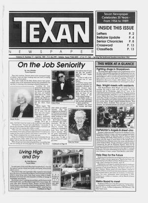Primary view of object titled 'The Texan Newspaper (Bellaire, Tex.), Vol. 37, No. 17, Ed. 1 Wednesday, April 26, 1989'.