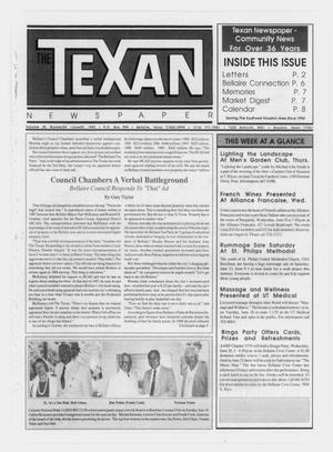 Primary view of object titled 'The Texan Newspaper (Bellaire and Houston, Tex.), Vol. 38, No. 24, Ed. 1 Wednesday, June 20, 1990'.