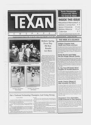 Primary view of object titled 'The Texan Newspaper (Bellaire and Houston, Tex.), Vol. 38, No. 20, Ed. 1 Wednesday, May 23, 1990'.