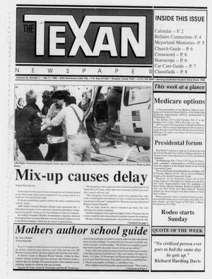 Primary view of object titled 'The Texan Newspaper (Houston, Tex.), Vol. 36, No. 7, Ed. 1 Wednesday, February 17, 1988'.