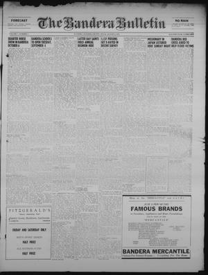 Primary view of object titled 'The Bandera Bulletin (Bandera, Tex.), Vol. 7, No. 5, Ed. 1 Friday, August 3, 1951'.
