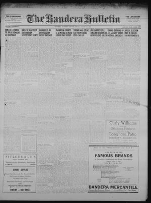 Primary view of object titled 'The Bandera Bulletin (Bandera, Tex.), Vol. 7, No. 7, Ed. 1 Friday, August 17, 1951'.