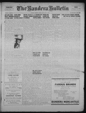 Primary view of object titled 'The Bandera Bulletin (Bandera, Tex.), Vol. 6, No. 46, Ed. 1 Friday, May 18, 1951'.