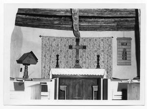 Primary view of object titled '[Church Altar]'.