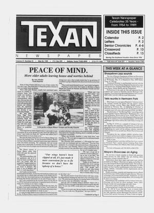 Primary view of object titled 'The Texan Newspaper (Bellaire and Houston, Tex.), Vol. 37, No. 21, Ed. 1 Wednesday, May 24, 1989'.