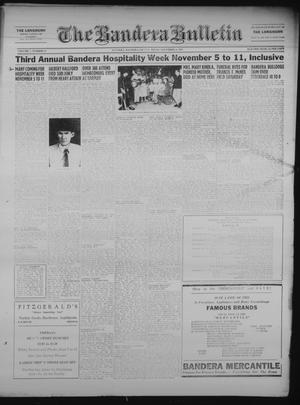 Primary view of object titled 'The Bandera Bulletin (Bandera, Tex.), Vol. 7, No. 18, Ed. 1 Friday, November 2, 1951'.