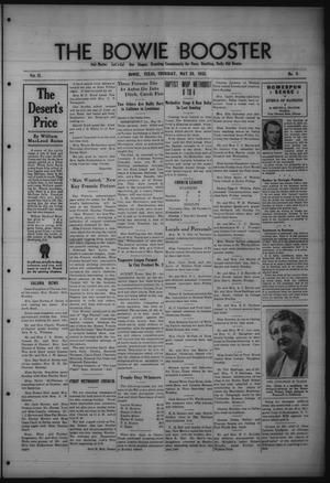 The Bowie Booster (Bowie, Tex.), Vol. 11, No. 9, Ed. 1 Thursday, May 26, 1932