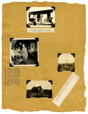 Primary view of object titled '[Scrapbook Page: Denton Citizens]'.