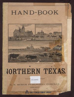 Primary view of object titled 'Hand-Book of Northern Texas'.