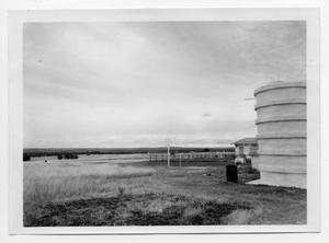 Primary view of object titled '[Field with Silo]'.