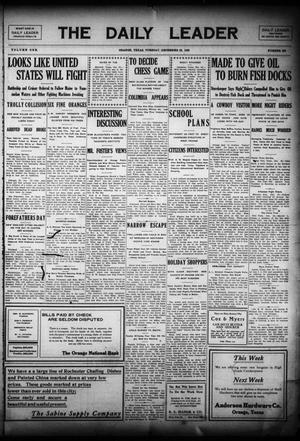 Primary view of The Daily Leader (Orange, Tex.), Vol. 1, No. 220, Ed. 1 Tuesday, December 22, 1908