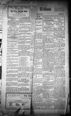 Primary view of object titled 'The Orange Daily Tribune. (Orange, Tex.), Vol. 1, No. 236, Ed. 1 Tuesday, December 16, 1902'.