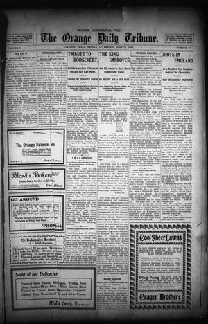 Primary view of object titled 'The Orange Daily Tribune. (Orange, Tex.), Vol. 1, No. 90, Ed. 1 Friday, June 27, 1902'.