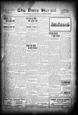 Primary view of object titled 'The Daily Herald. (Weatherford, Tex.), Vol. 14, No. 298, Ed. 1 Friday, December 26, 1913'.