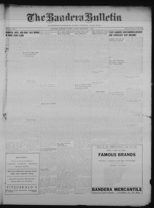 Primary view of object titled 'The Bandera Bulletin (Bandera, Tex.), Vol. 6, No. 10, Ed. 1 Friday, September 8, 1950'.