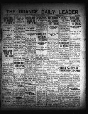 Primary view of object titled 'The Orange Daily Leader (Orange, Tex.), Vol. 15, No. 289, Ed. 1 Monday, January 19, 1920'.