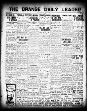 Primary view of object titled 'The Orange Daily Leader (Orange, Tex.), Vol. 16, No. 180, Ed. 1 Friday, September 10, 1920'.
