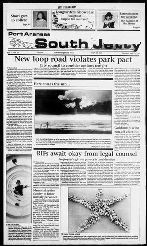 Primary view of object titled 'Port Aransas South Jetty (Port Aransas, Tex.), Vol. 21, No. 21, Ed. 1 Thursday, May 23, 1991'.