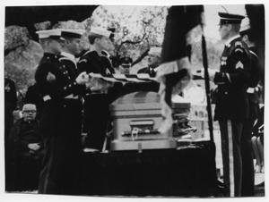 Primary view of object titled '[Lyndon Johnson's Funeral Procession]'.