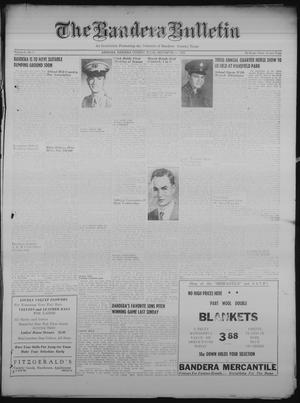 Primary view of object titled 'The Bandera Bulletin (Bandera, Tex.), Vol. 6, No. 11, Ed. 1 Friday, September 15, 1950'.
