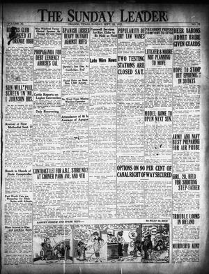 Primary view of object titled 'The Orange Daily Leader (Orange, Tex.), Vol. 11, No. 76, Ed. 1 Sunday, September 20, 1925'.