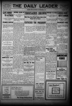 Primary view of The Daily Leader (Orange, Tex.), Vol. 1, No. 151, Ed. 1 Tuesday, September 29, 1908