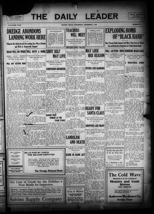 Primary view of The Daily Leader (Orange, Tex.), Vol. 1, No. 211, Ed. 1 Wednesday, December 9, 1908