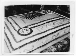 Primary view of object titled '[Bicentennial Cake]'.