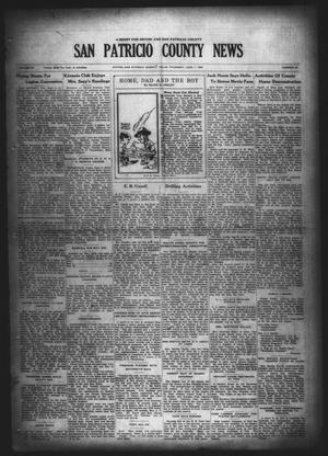 Primary view of object titled 'San Patricio County News (Sinton, Tex.), Vol. 20, No. 19, Ed. 1 Thursday, June 7, 1928'.