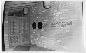 Primary view of object titled '[Johnson City Post Office]'.