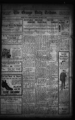 Primary view of object titled 'The Orange Daily Tribune. (Orange, Tex.), Vol. 1, No. 191, Ed. 1 Thursday, October 23, 1902'.