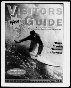 Primary view of object titled '2002 Summer Visitors' Guide (Port Aransas, Tex.)'.