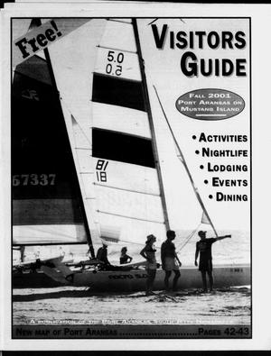 Primary view of object titled '2001 Fall Visitors' Guide (Port Aransas, Tex.)'.