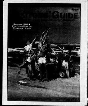 Primary view of object titled '2001 Summer Visitors' Guide (Port Aransas, Tex.)'.