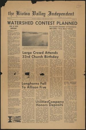 The Kiowa Valley Independent (Darrouzett, Tex.), Vol. 2, No. 22, Ed. 1 Thursday, February 27, 1964