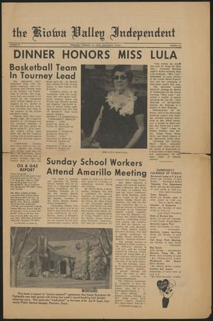The Kiowa Valley Independent (Darrouzett, Tex.), Vol. 2, No. 20, Ed. 1 Thursday, February 13, 1964