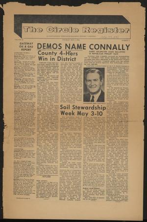 The Circle Register (Follett, Tex.), Vol. 3, No. 4, Ed. 1 Tuesday, May 5, 1964
