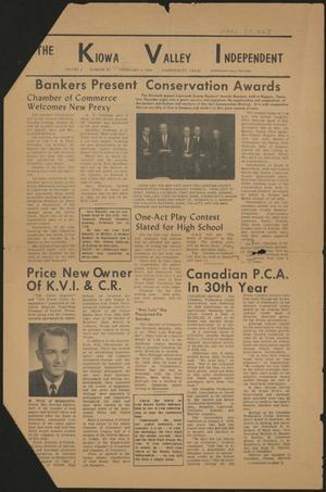 The Kiowa Valley Independent (Darrouzett, Tex.), Vol. 2, No. 19, Ed. 1 Tuesday, February 4, 1964