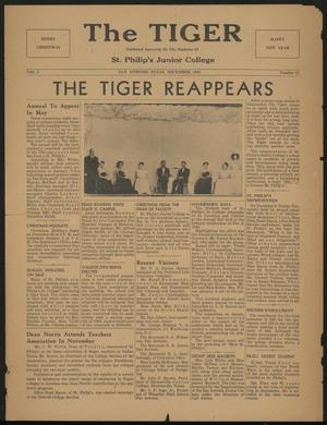 Primary view of object titled 'The Tiger (San Antonio, Tex.), Vol. 1, No. 21, Ed. 1, December 1948'.