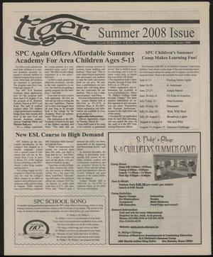 Primary view of object titled 'The Tiger (San Antonio, Tex.), Vol. 62, No. 9, Ed. 1, Summer 2008'.