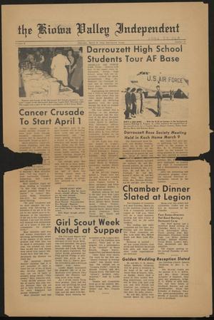 The Kiowa Valley Independent (Darrouzett, Tex.), Vol. 2, No. 25, Ed. 1 Thursday, March 19, 1964