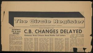 The Circle Register (Follett, Tex.), Vol. 3, No. 27, Ed. 1 Tuesday, October 13, 1964