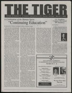 Primary view of object titled 'The Tiger (San Antonio, Tex.), Vol. 54, No. 6, Ed. 1 Tuesday, March 4, 2003'.