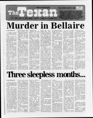 The Texan (Bellaire, Tex.), Vol. 33, No. 19, Ed. 1 Wednesday, January 8, 1986