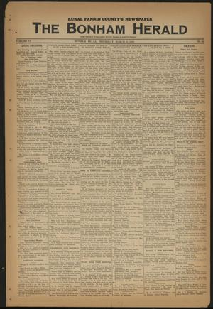 Primary view of object titled 'The Bonham Herald (Bonham, Tex.), Vol. 11, No. 64, Ed. 1 Thursday, March 31, 1938'.